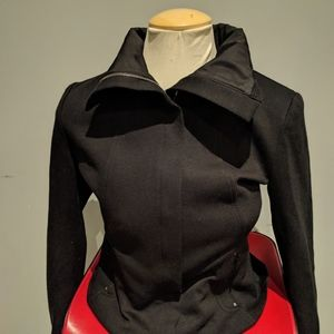 Black Spring jacket by Elie Tahari